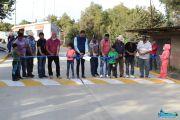 Inauguración de calle